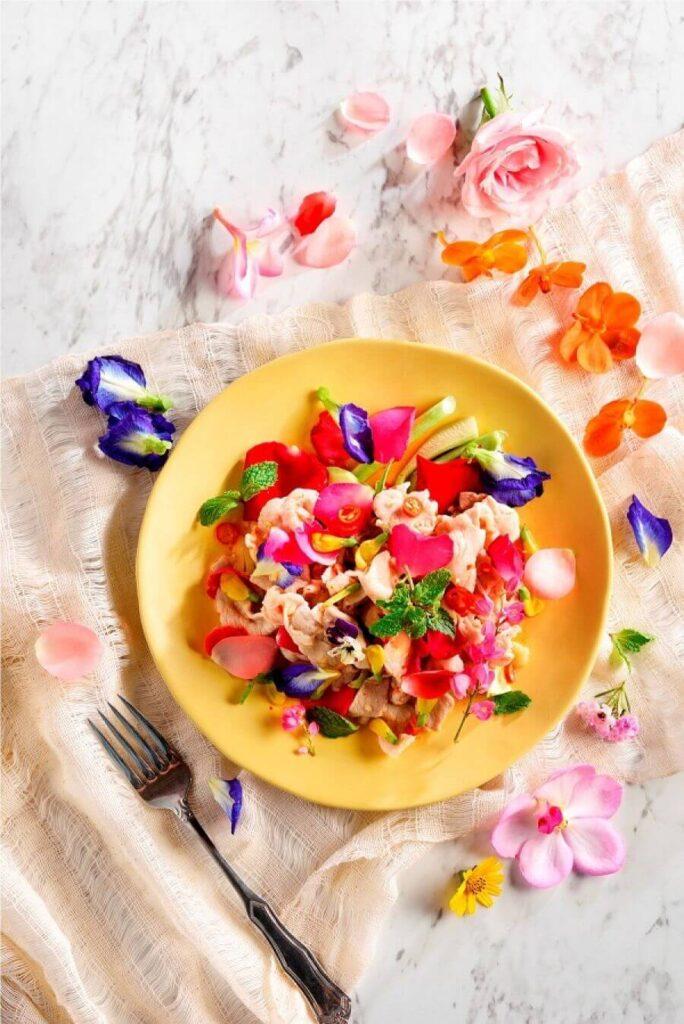 ดอกไม้กินได้