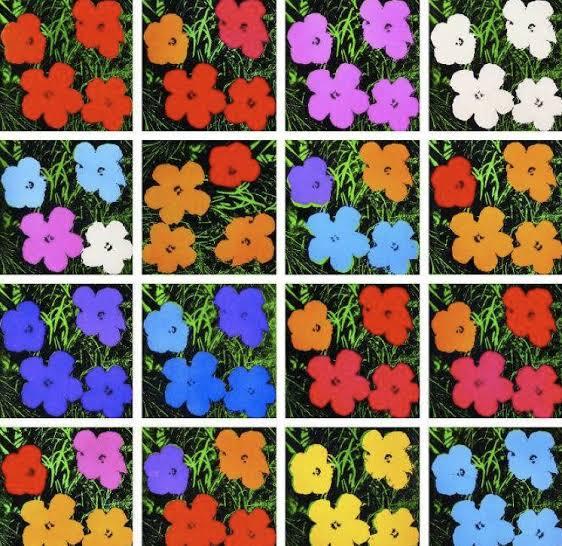 ดอกไม้ในงานศิลปะ FLOWERS BY ANDY WARHOL