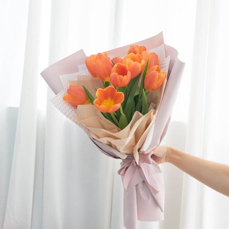 ดอกไม้สไตล์มินิมอล