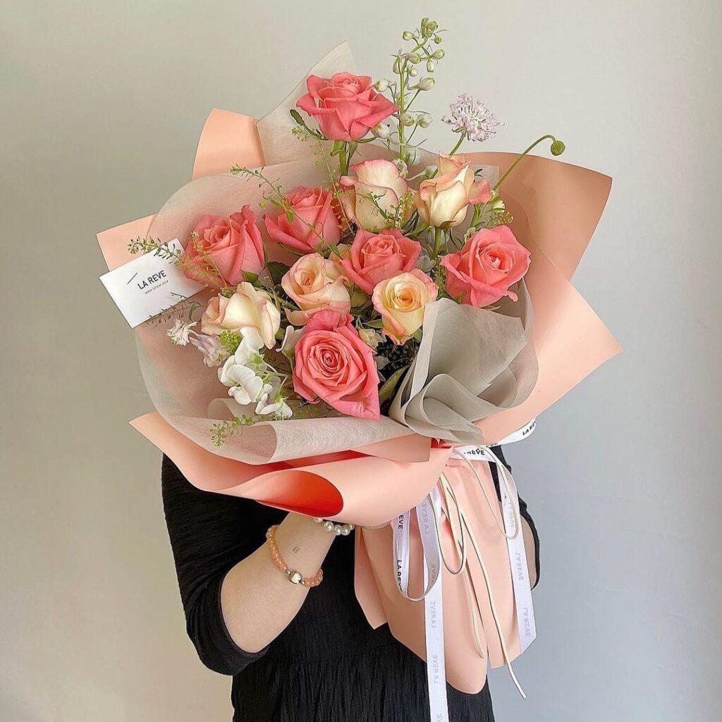 ดอกไม้ให้หัวหน้า กุหลาบ
