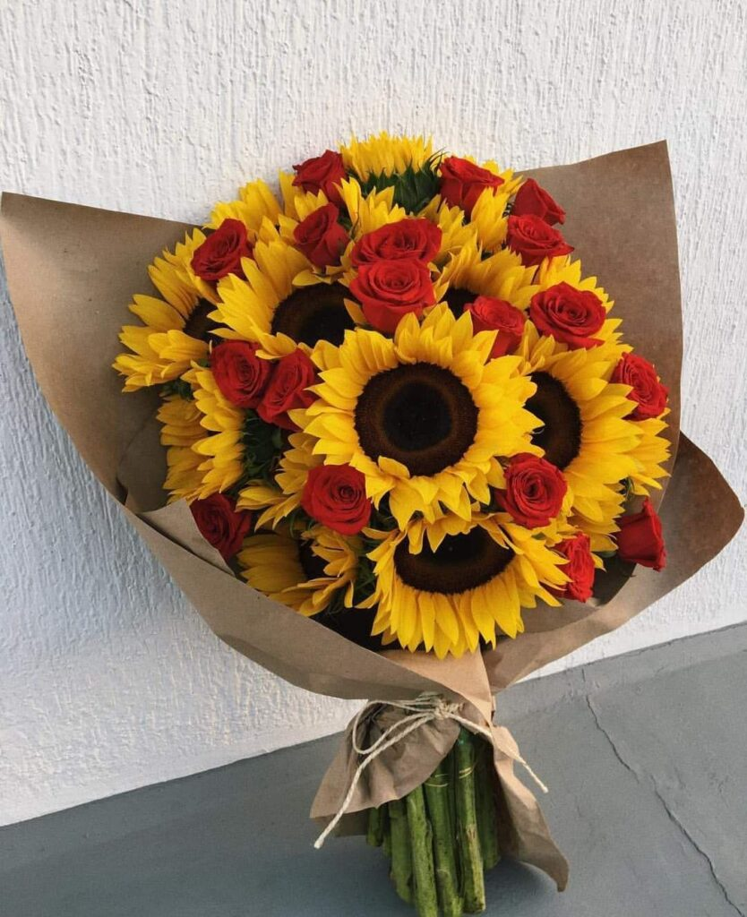 ดอกไม้ให้หัวหน้า ทานตะวัน